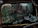 Castlevania 3 Dracula's Curse Map