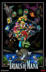 Trials of Mana Poster