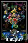 Trials of Mana Poster by whittingtonrhett