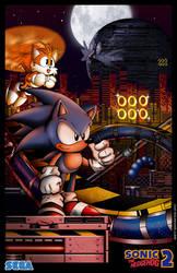 Sonic 2  Chemical Plant by whittingtonrhett