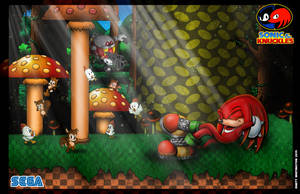 Knuckles - Moments before disaster