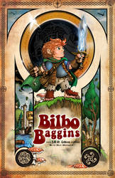 Bilbo Baggins Poster