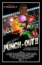 Punch Out Movie Poster by whittingtonrhett