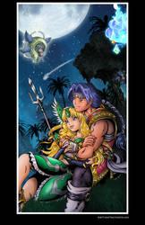 Hawkeye and Reisz Poster by whittingtonrhett
