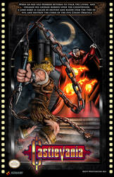 NES Castlevania poster 2 by whittingtonrhett