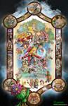 Legend of Mana Official Poster by whittingtonrhett