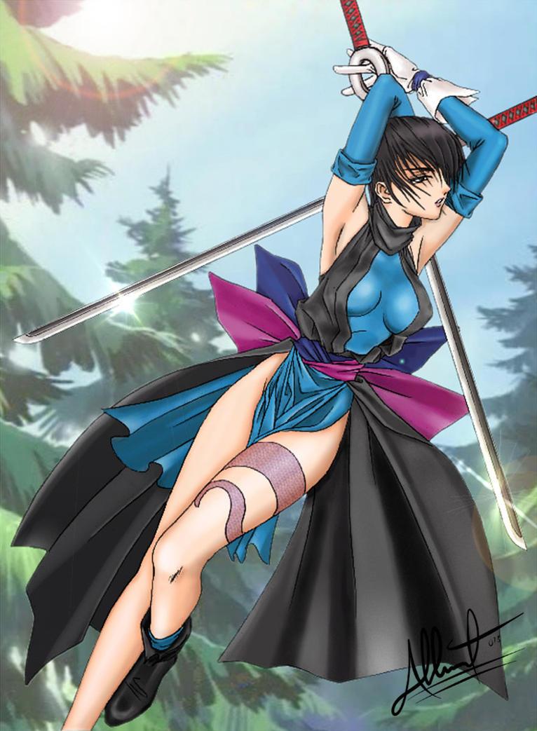 Shiki / Samurai Showdown by exeryus