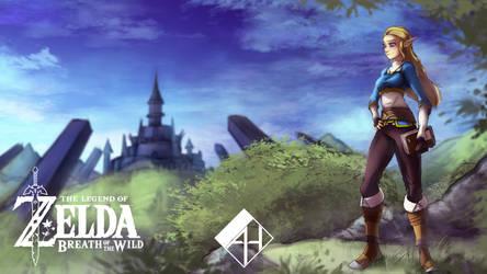 Zelda Pinup