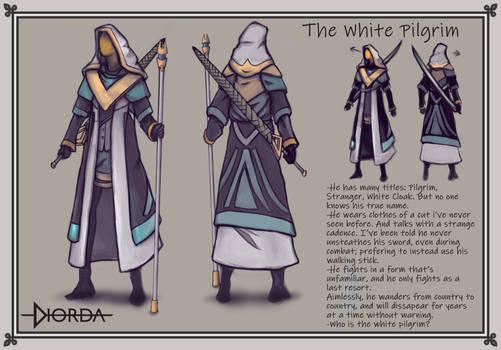 The White Pilgrim, Concept Art