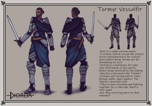 Tormyr Vessalfir, Concept Art