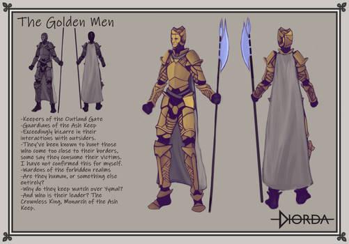 Golden Men, Concept Art