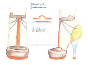 Zodiac Chic Shoes -Libra by DioneeMeli