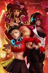 253b Persona Dancing Print Females  copy