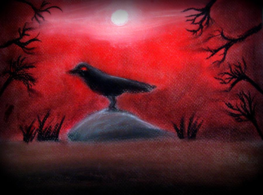 Evil crow - photo#27