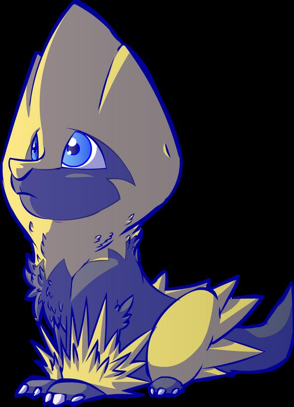 Bolt my Shiny Manectric! by Zaxlin