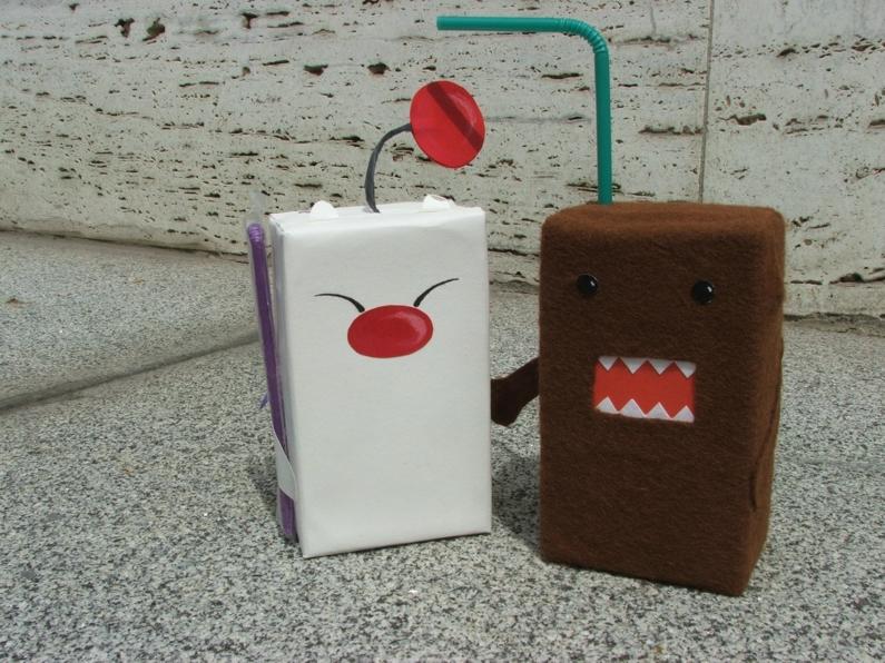 Kupo a Domo-kun juice by e-calwen