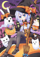 Happy Halloween 2017 by Kitsuneco