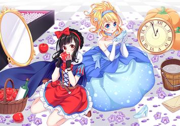 Snow White Oso X Cinderella Kara by Kitsuneco