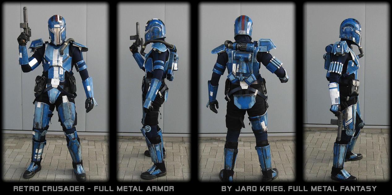 SWTOR Mandalorian Hunter Armor by JaroKrieg