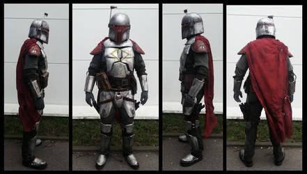 Full Metal - Mandalorian Armor: Jaster Mereel by JaroKrieg