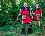 Gothic - Old Camp Guards by JaroKrieg