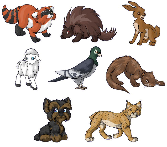 Image of: Animal Breeding Powerpets Virtual Pet Simulator Games Virtual Pet Games That Will Scratch Your Neopets Itch Flight