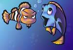 Finding Nemo Fanart wh00t