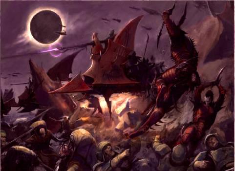 Dark Eldar Raid Colored