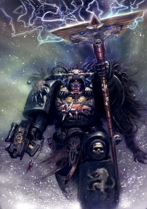 Rune Priest Colored by MajesticChicken