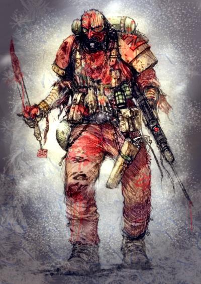 [ROMAN 40k] Le chasseur (une histoire de la garde impériale) Blood_Pact_Trooper_by_MajesticChicken
