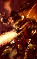 Explodey Wierdboy by MajesticChicken
