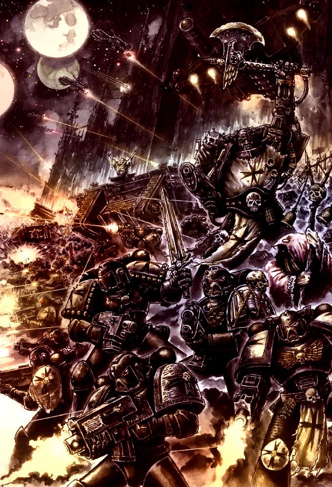 Eternal Crusade by MajesticChicken