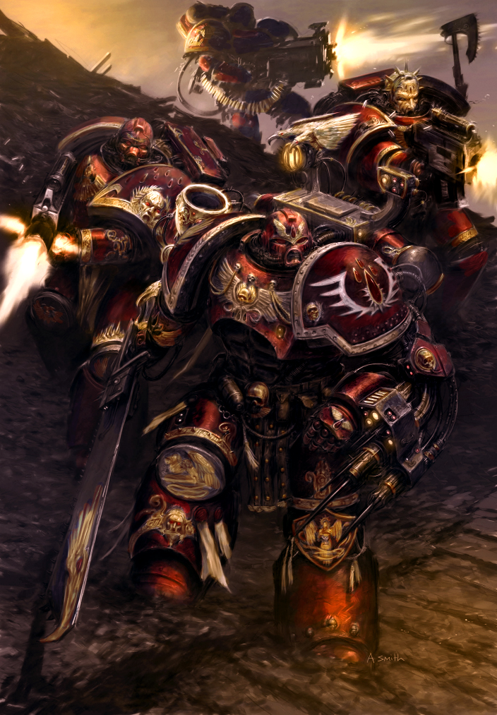 [W40K] Collection d'images : Space Marines Sons_of_Sanguinius_by_MajesticChicken
