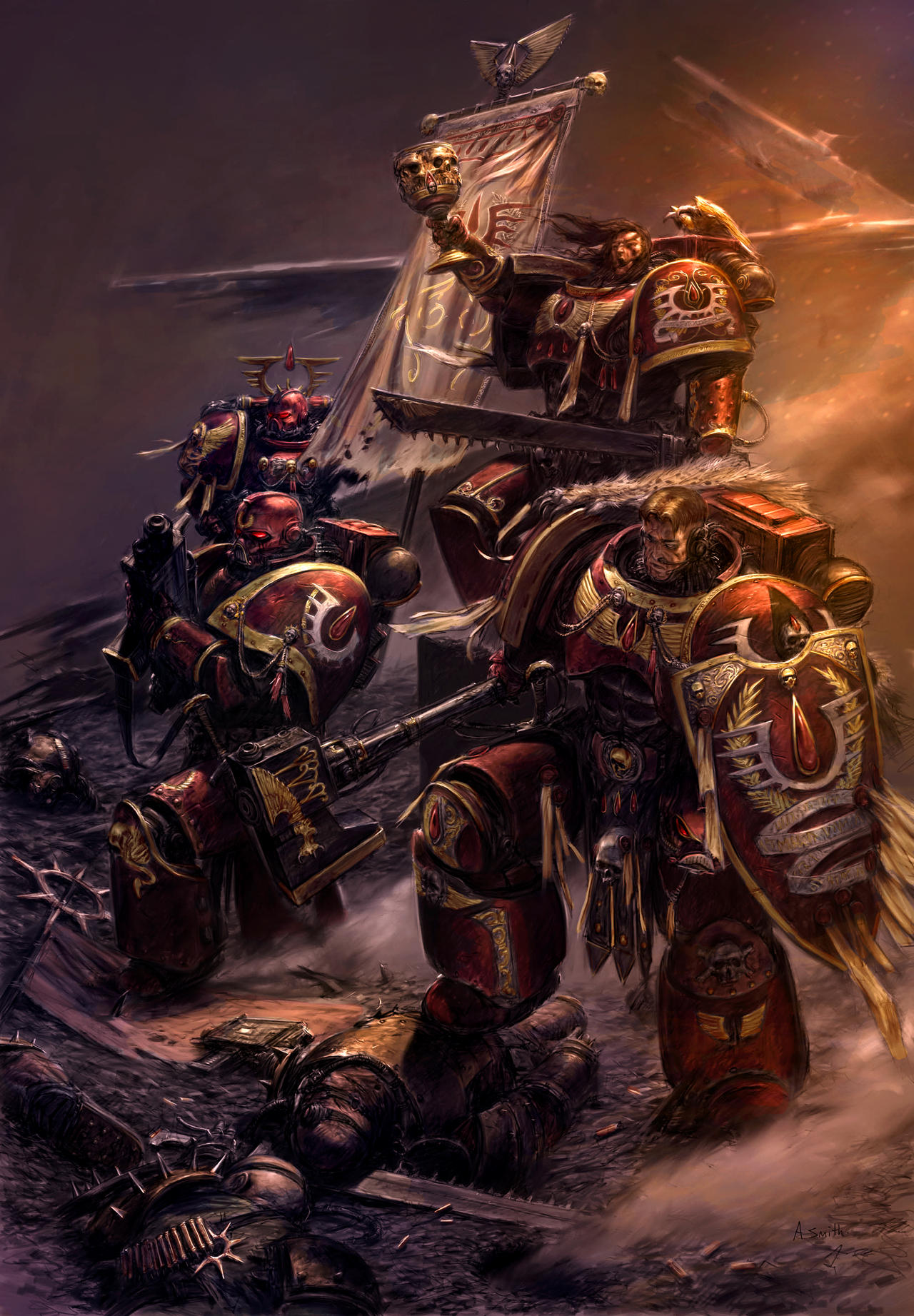 [W40K] Collection d'images : Space Marines Cruor_Angelus_by_MajesticChicken