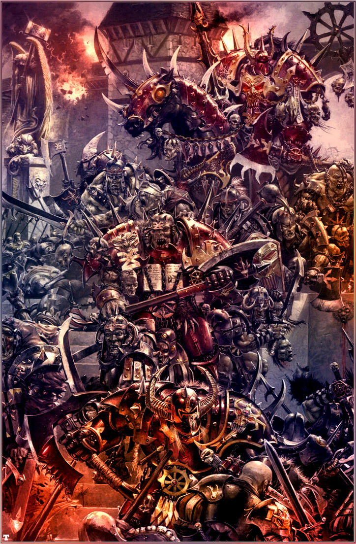 Champions of Khorne by MajesticChicken