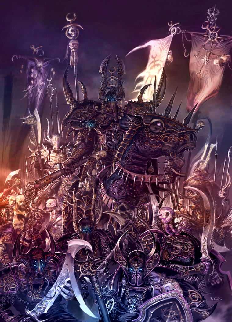 Champions of Slaanesh by MajesticChicken