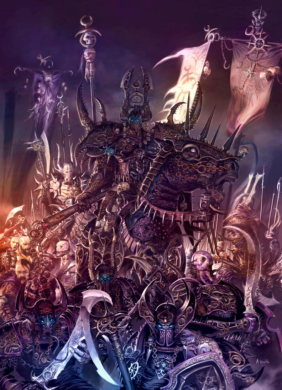 Champions of Slaanesh by MajesticChicken
