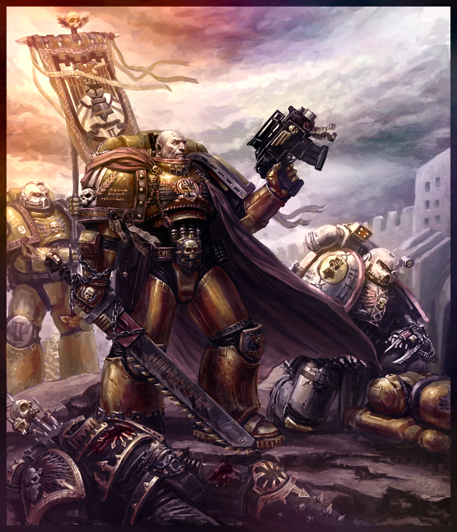 Sons of Dorn by MajesticChicken