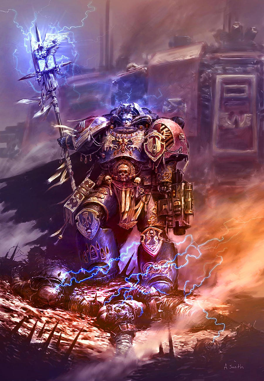 [W40K] Collection d'images : Space Marines Librarian_Colored_by_MajesticChicken