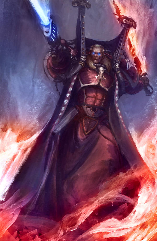 Mephiston Colored by MajesticChicken