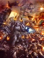 Ultramarines Strike by MajesticChicken