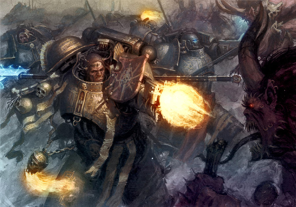 Daemon Smashing by MajesticChicken