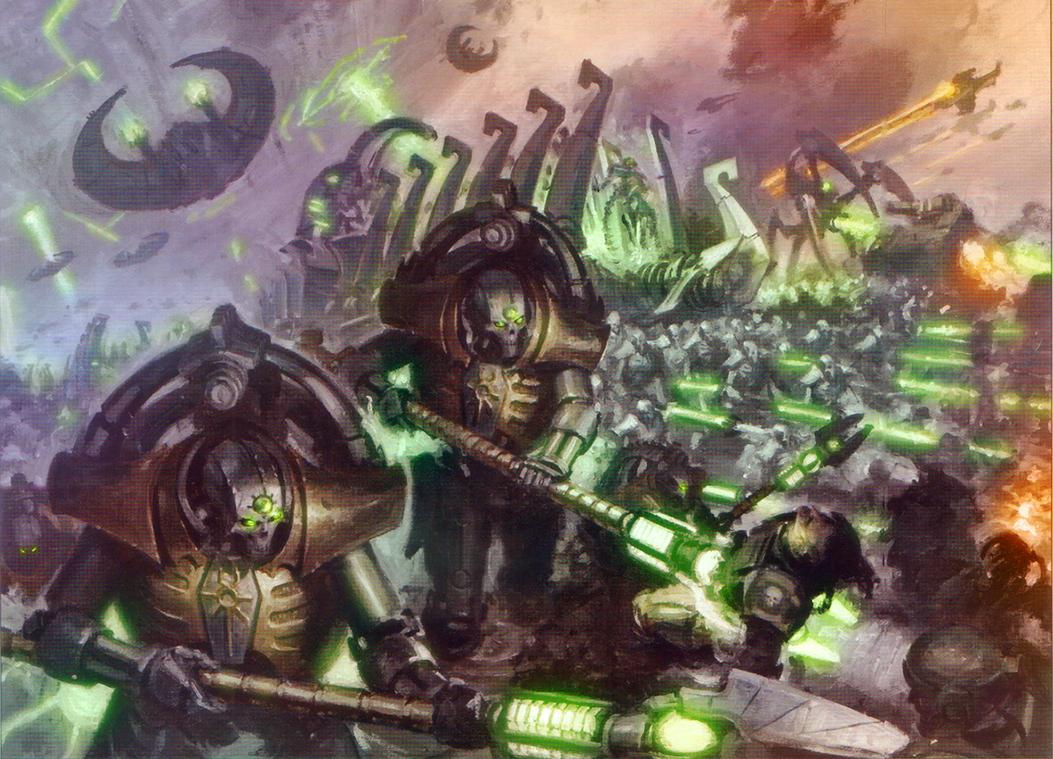 The Necrontyr Rise by MajesticChicken