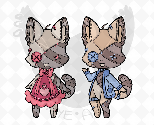 -COMMISSION- Customized Adopts