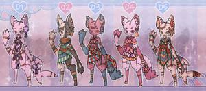 -OPEN- Adopts Chibis Anthro/Furry 01-05
