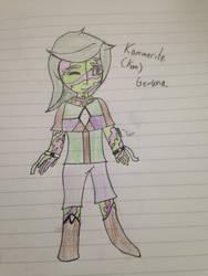 Gemsona: Kammerite by Blueberry-Muffin14