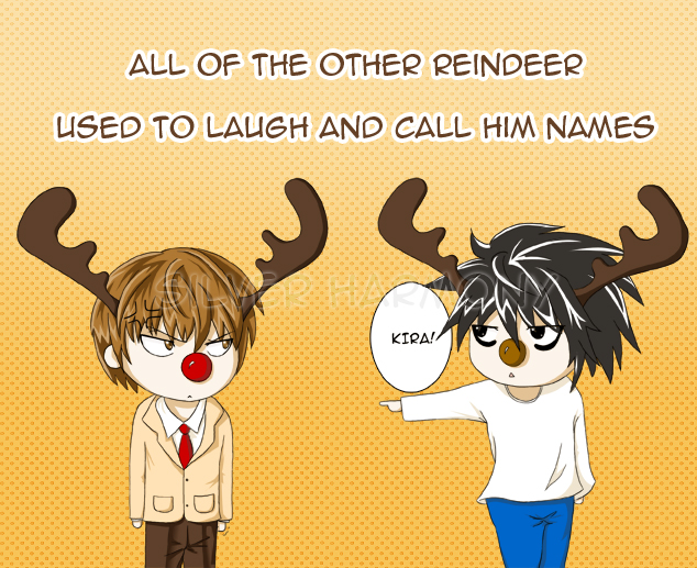 Raito the Red-Nosed Reindeer