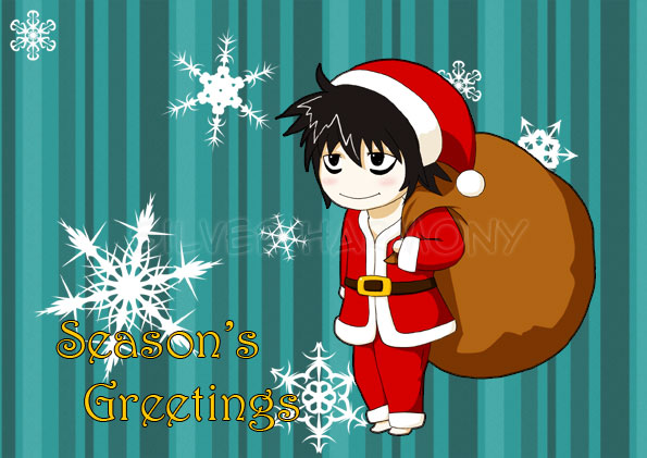 Santa L - Season's Greetings