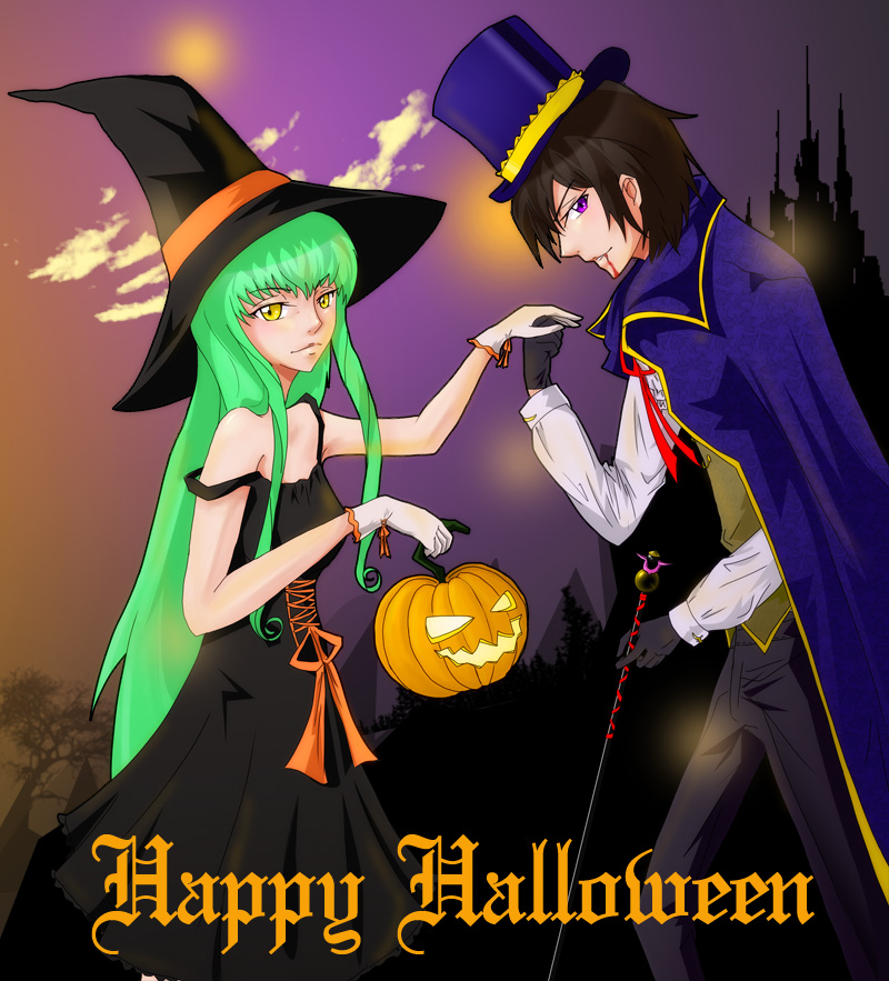 Halloween 08 - CC + Lelouch