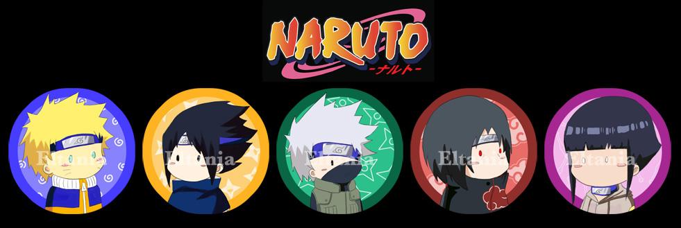 Badges Naruto by eltania
